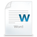 application/vnd.openxmlformats-officedocument.wordprocessingml.document icon