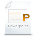 application/vnd.ms-powerpoint icon